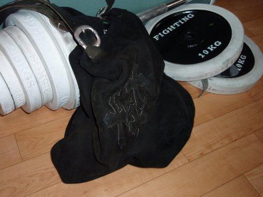 クロムハーツのバッグとバーベルセット