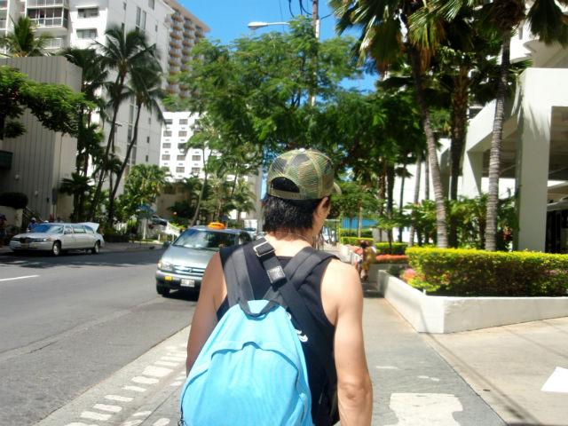 ハネムーン最後の日 ハワイの風景