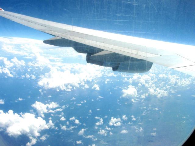 地球の上空