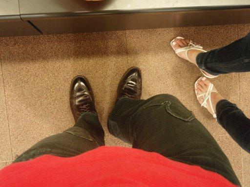 オールデンを履いたsanasukeと妻