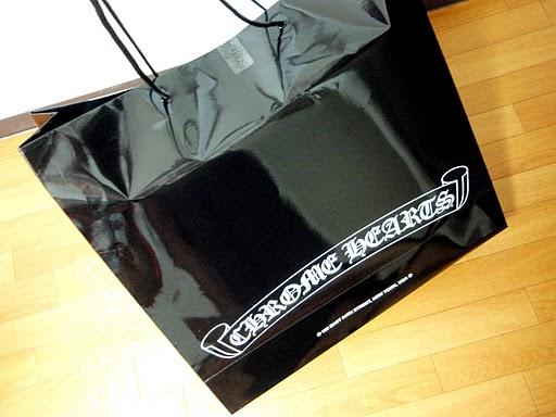 クロムハーツのショッピングバッグ