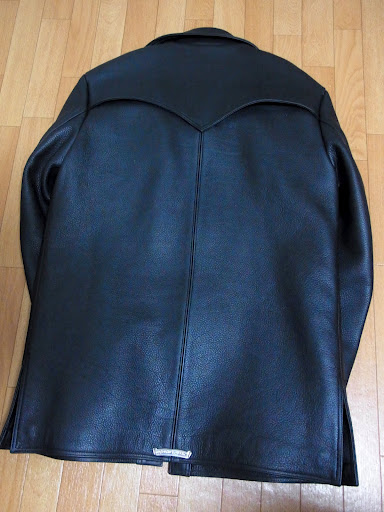 クロムハーツ ハンティングジャケットのバックスタイル