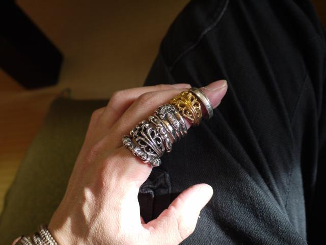 クロムハーツのリング各種
