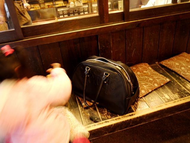 有馬温泉とクロムハーツのジムバッグ