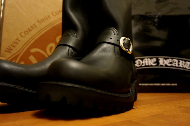 CHROME HEARTS×WESCO THE BOSSのローアングル