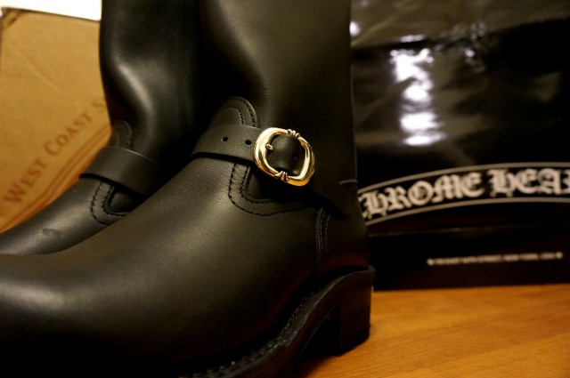 CHROME HEARTS×WESCO THE BOSSのバックル