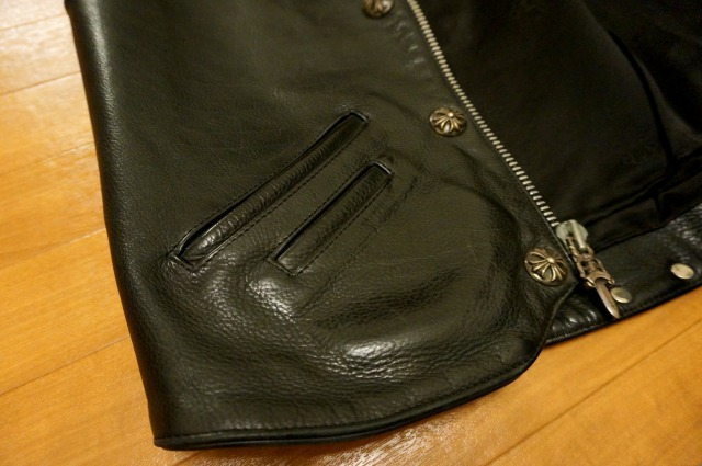 クロムハーツ LeatherVest
