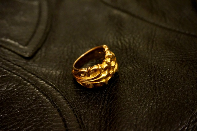 CHROME HEARTS RING  GOLD KT