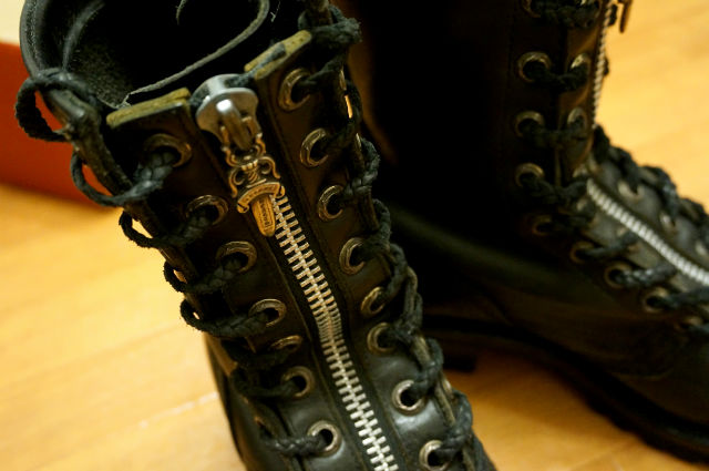 CHROME HEARTS×WESCO firemenboots