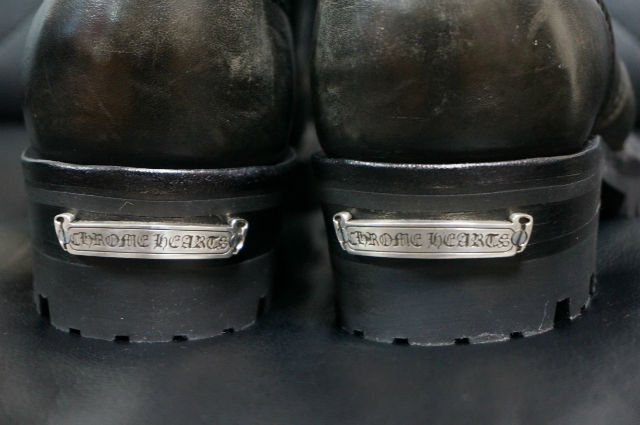CHROME HEARTS FIREMAN BOOTS heel