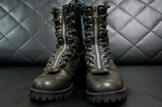 CHROME HEARTS FIREMAN BOOTS
