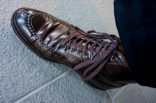 オールデンというコードヴァンの靴
