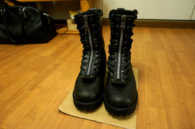 CHROME HEARTS×WESCO FIREMEN BOOTS