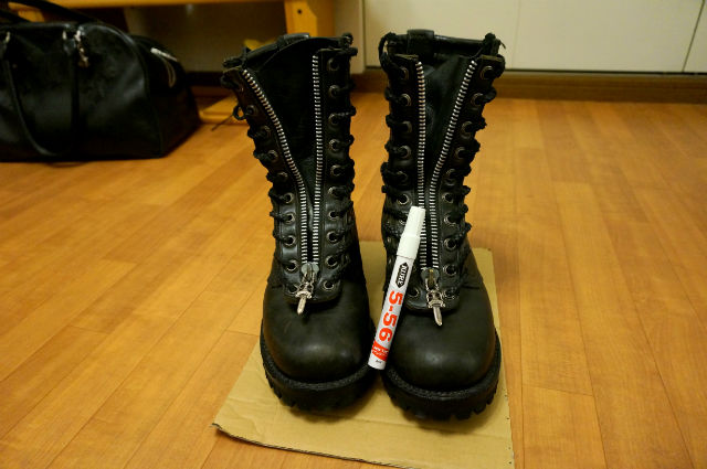 CHROME HEARTS×FIREMAN BOOTS