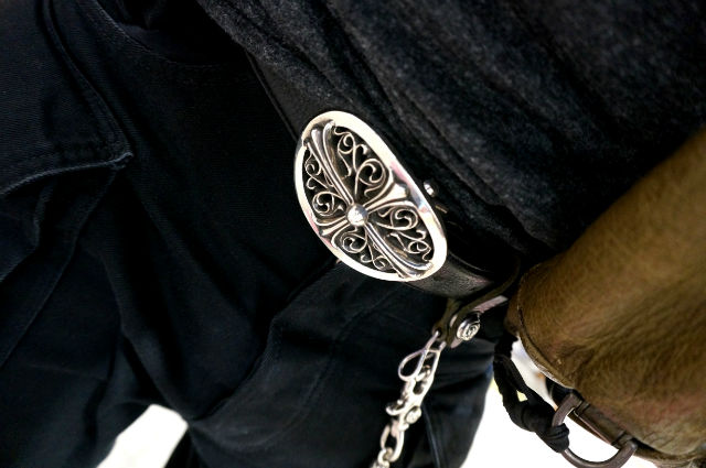 CHROME HEARTS CLASSICOVAL CROSS