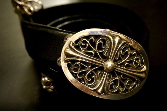 CHROME HEARTS BELT CLASSIC OVAL