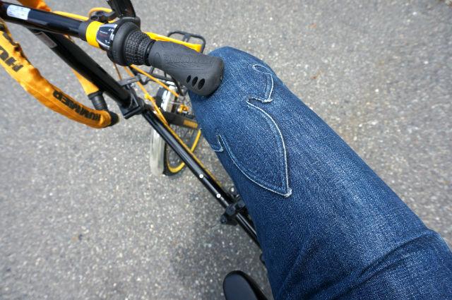 ハマーの自転車のCHROME HEARTS