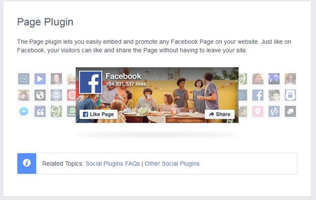 facebook ページプラグイン