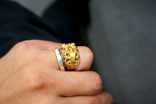 CHROME HEARTS RING 22K