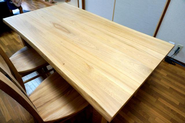 一枚板ダイニングテーブルセット