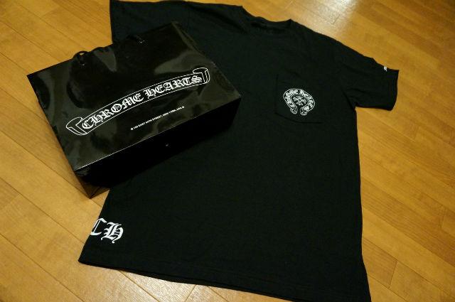 CHROME HEARTS PARIS限定Tシャツ フロント