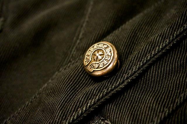 クロムハーツ デニムラインボタン