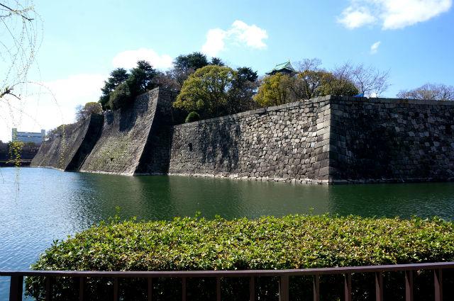 大阪城の外堀
