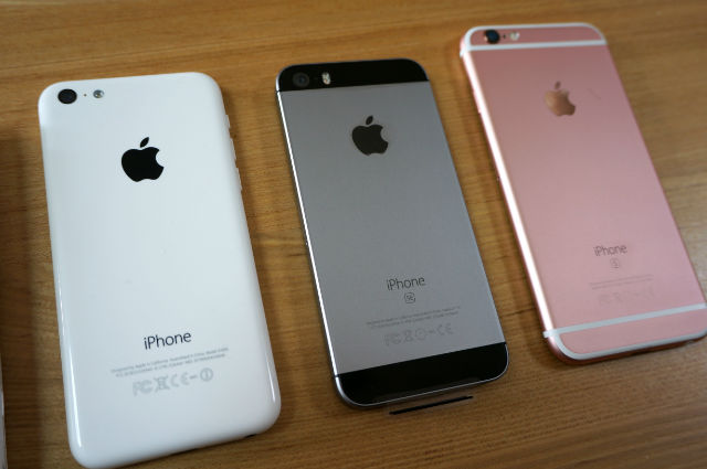 「iPhone5c」「iPhoneSE」「iPhone6s」