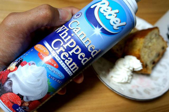 ワンプッシュ ホイップクリーム