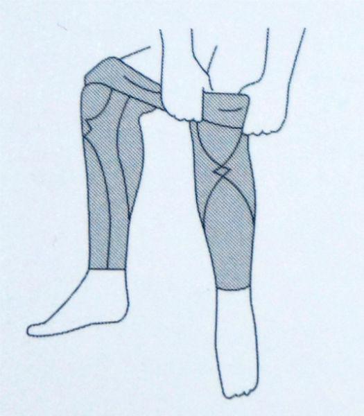 CW-Xスポーツタイツの履き方