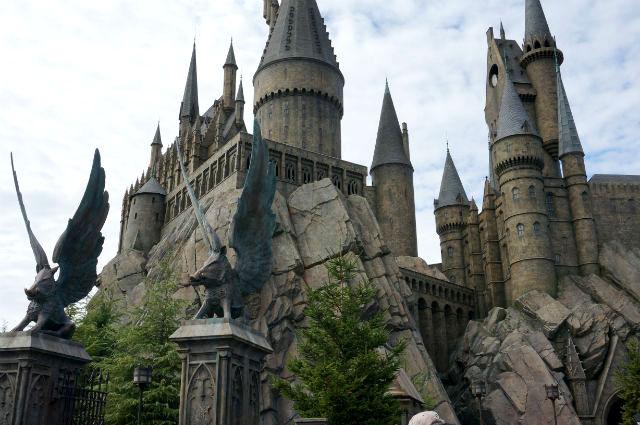 USJ ハリーポッターの世界のお城