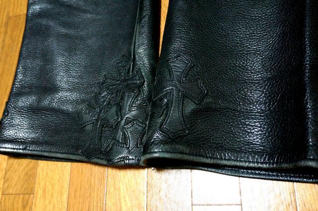 クロムハーツ 裾のセメタリーパッチ
