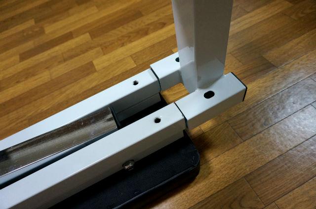 インクラインベンチの足の部分