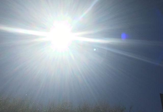 太陽の陽射し