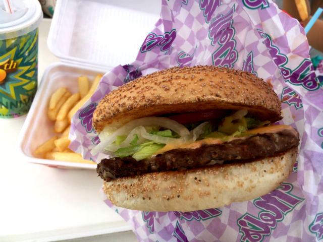 USJのデカイハンバーガー