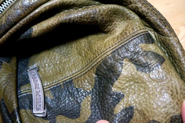 クロムハーツ スナットパック 色落ちした革