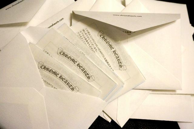 クロムハーツの保証書