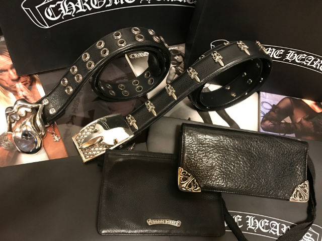 CHROME HEARTS BELT & WALLET