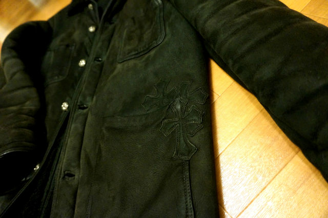 CHROME HEARTS SHEARING BOX JACKET