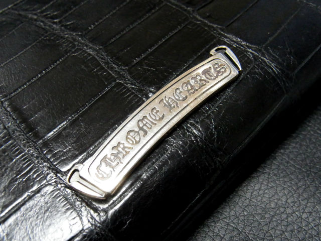 CHROME HEARTS REC F ZIP アリゲーター