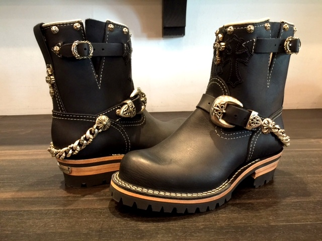 CHROME HEARTS×WESCO BOOTS