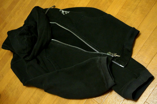 CHROME HEARTS HOODIE ZIP CH PLUS