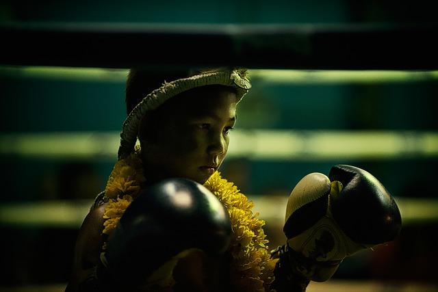 タイのボクサー(幼少期)