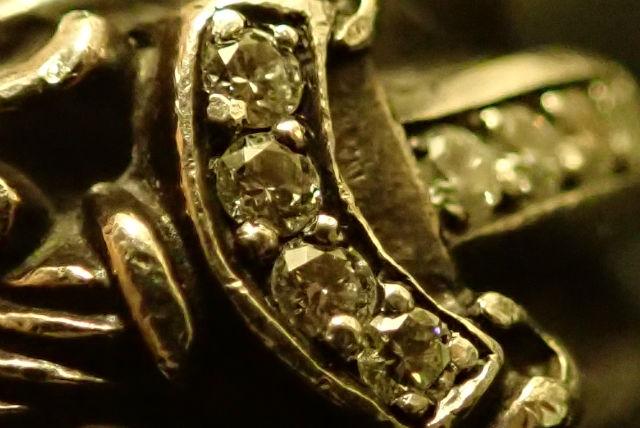 クロムハーツ ダガーリング パヴェ ダイヤモンド