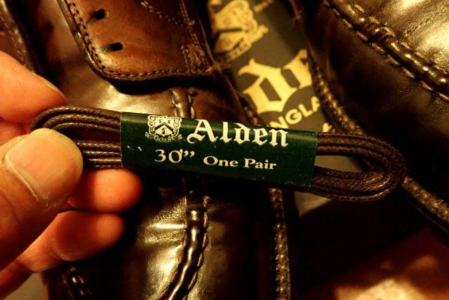 オールデンのシューレース