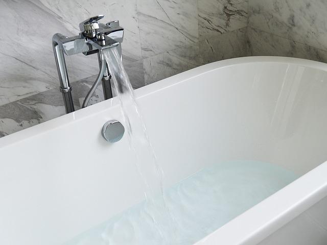 地震の時にお風呂に水を貯める