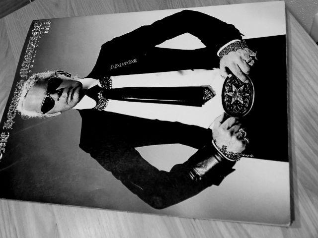 クロムハーツマガジンで表紙を飾るKarl Lagerfeld(カール・ラガーフェルド)