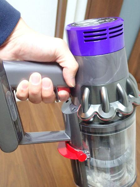 Dyson(ダイソン)v10の空気清浄フィルター
